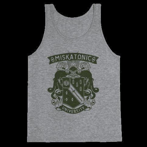 Miskatonic University Tank Top