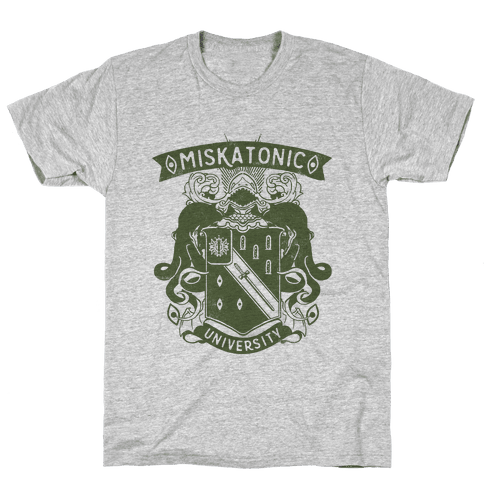 Miskatonic University Mens T-Shirt