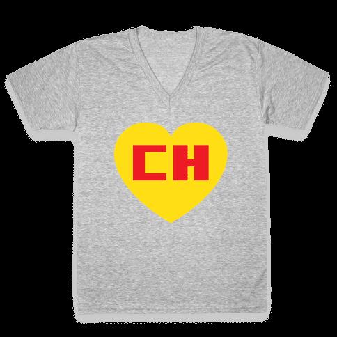 Chapulin Colorado V-Neck Tee Shirt
