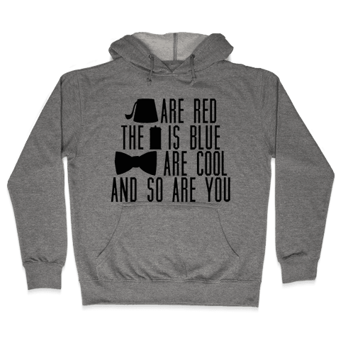 Doctor Cool Hooded Sweatshirt