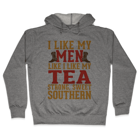Strong, Sweet Southern. Hooded Sweatshirt