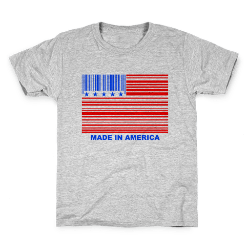 Made In America Kids T-Shirt