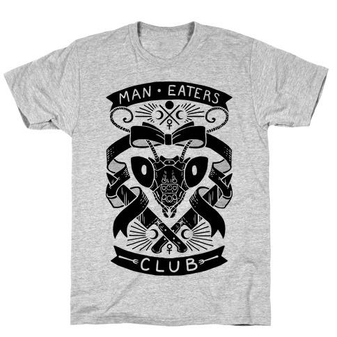 Praying Mantis Man-Eater's Club T-Shirt