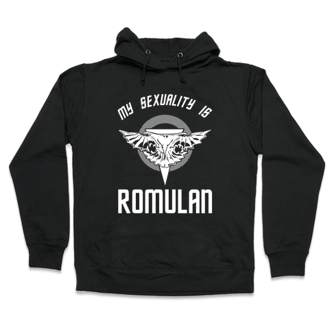 My Sexuality Is Romulan Hooded Sweatshirt