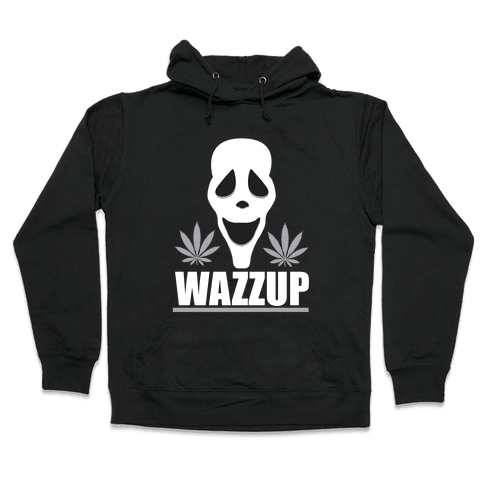 WAZZUP Hooded Sweatshirt