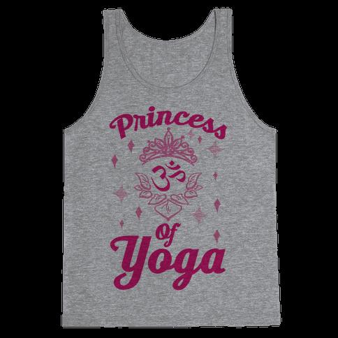 Princess Of Yoga Tank Top