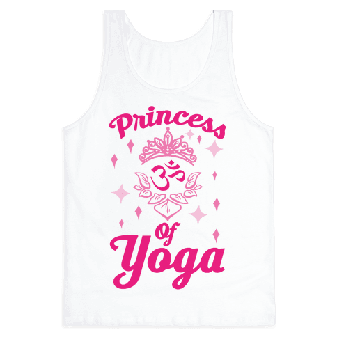 Princess Of Yoga Tank Top