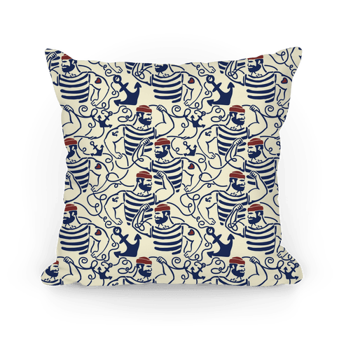 Knotty Sailors Pillow