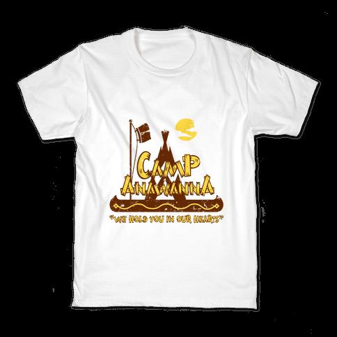 Camp Anawanna Kids T-Shirt
