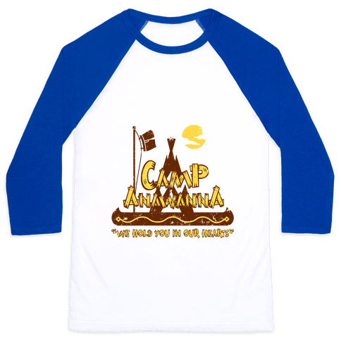 Camp Anawanna Baseball Tee