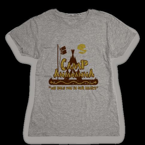 Camp Anawanna Womens T-Shirt