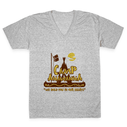 Camp Anawanna V-Neck Tee Shirt