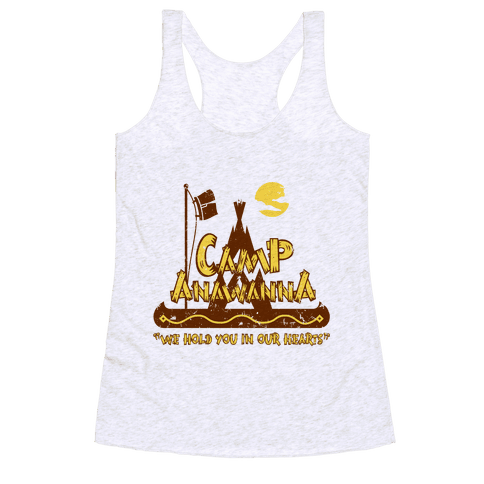 Camp Anawanna Racerback Tank Top