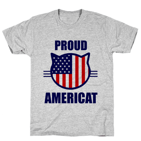 Proud Americat Mens T-Shirt