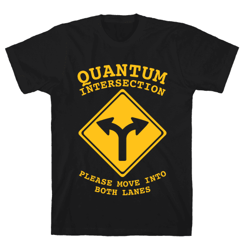 Quantum Intersection (Dark) Mens T-Shirt