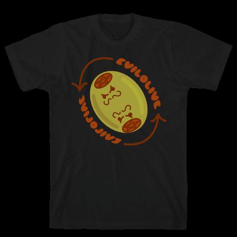 Evil Olive Mens T-Shirt