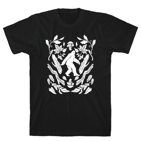 Sasquatch Sighting Mens T-Shirt