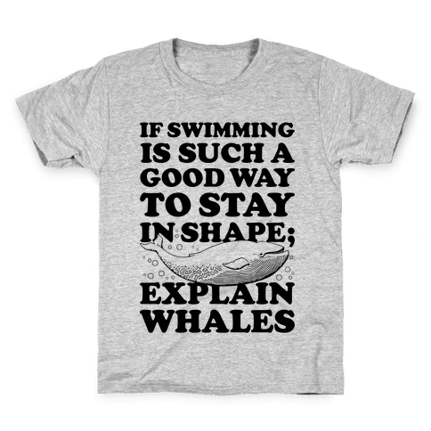 Explain Whales Kids T-Shirt