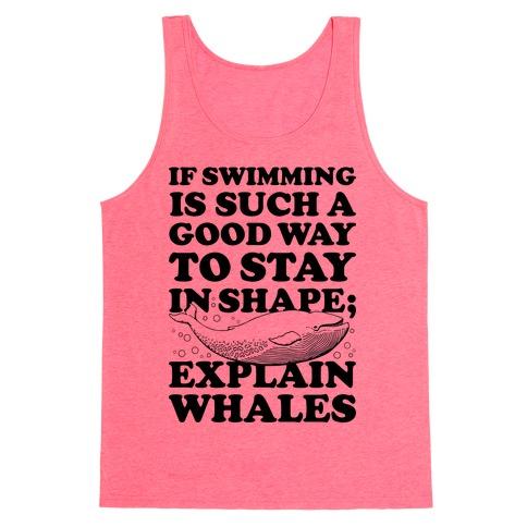 Explain Whales Tank Top