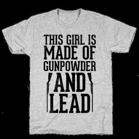 Gunpowder & Lead (Athletic Tank) Mens T-Shirt