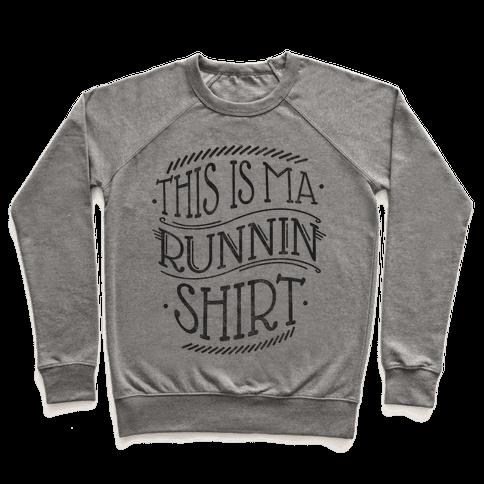 Running Shirt (Grey) Pullover
