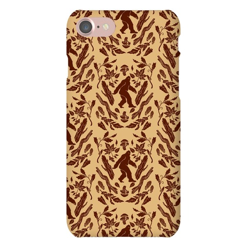Sasquatch Sighting Pattern Phone Case
