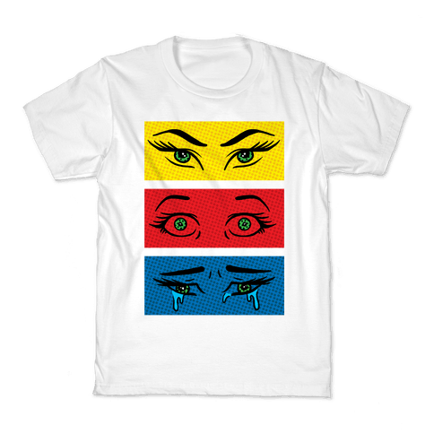 Pop Art Eyes Kids T-Shirt