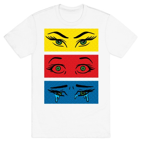 Pop Art Eyes T-Shirt