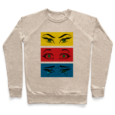 Pop Art Eyes Pullover
