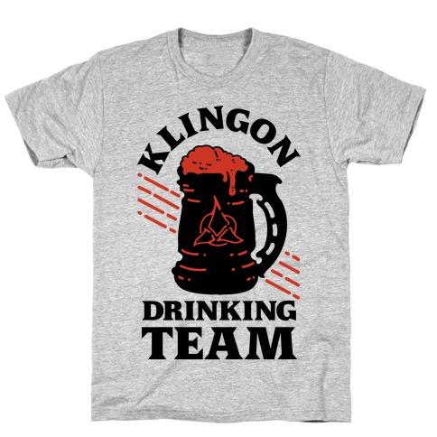 Klingon Drinking Team T-Shirt