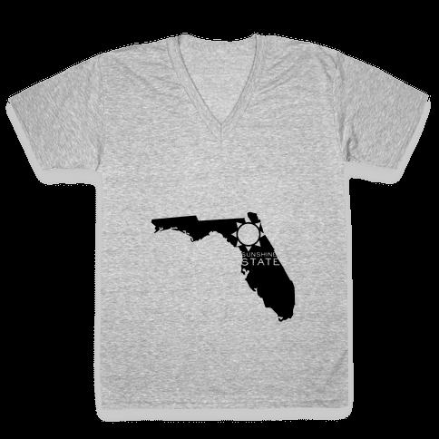Sunshine State V-Neck Tee Shirt