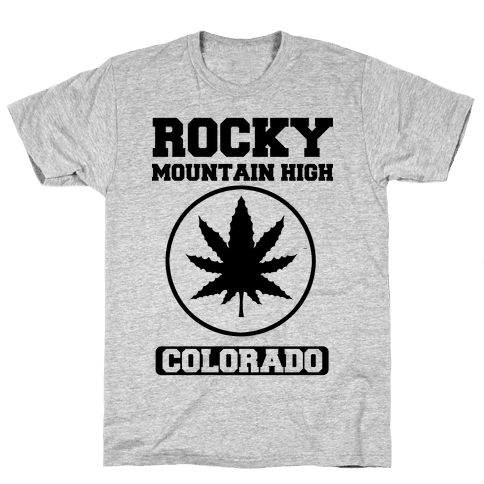 Rocky Mountain High Colorado Mens T-Shirt