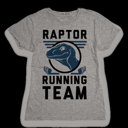 Raptor Running Team Womens T-Shirt