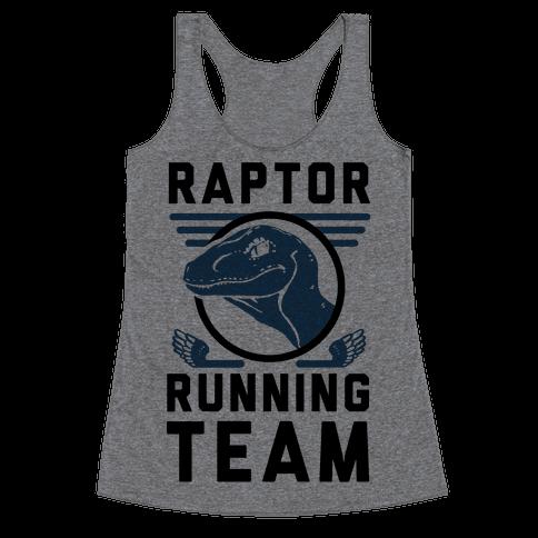 Raptor Running Team Racerback Tank Top