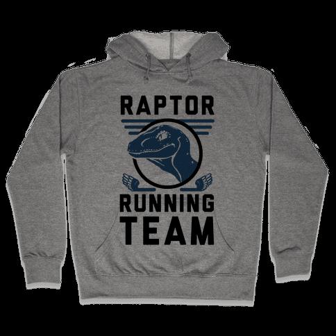 Raptor Running Team Hooded Sweatshirt
