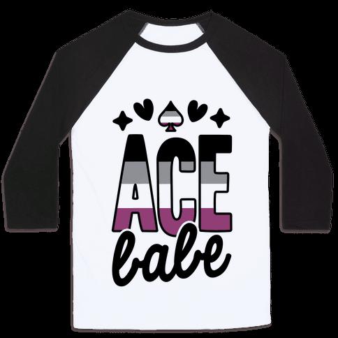 Ace Babe Baseball Tee