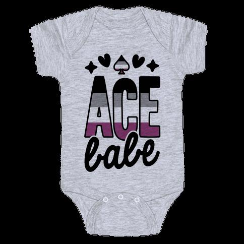 Ace Babe Baby Onesy