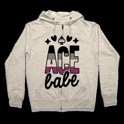Ace Babe Zip Hoodie
