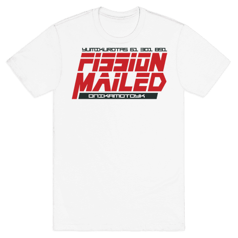 Fission Mailed Mens T-Shirt
