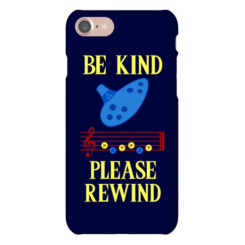 Be Kind, Please Rewind Phone Case