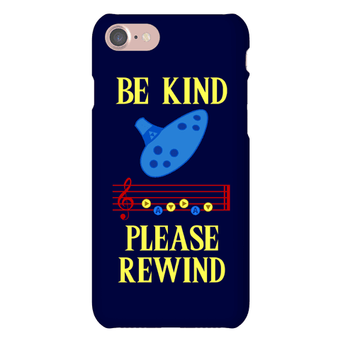 Be Kind, Please Rewind Phone Case