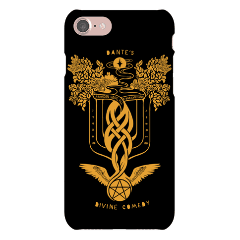Dante's Divine Comedy Phone Case