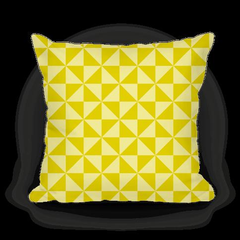 Yellow Large Pinwheel Pattern