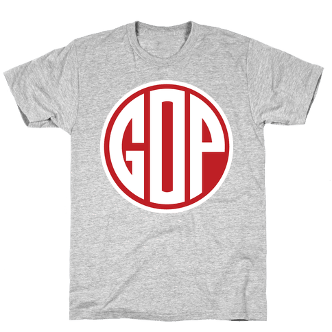 GOP Emblem 2 Mens T-Shirt