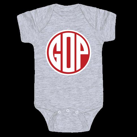 GOP Emblem 2 Baby Onesy