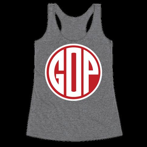 GOP Emblem 2 Racerback Tank Top