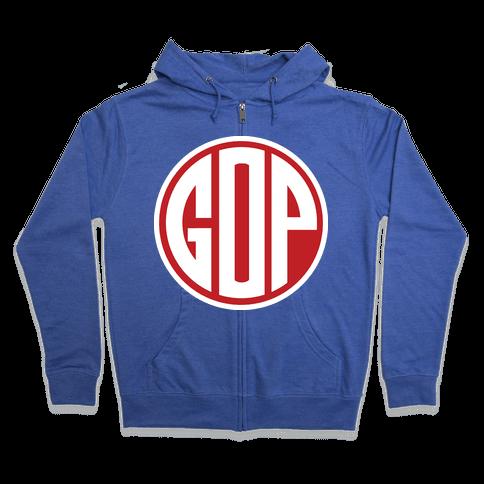 GOP Emblem 2 Zip Hoodie