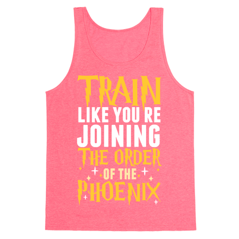 Train Like You're Joining The Order Tank Top