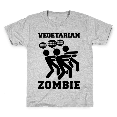 Vegetarian Zombie Kids T-Shirt