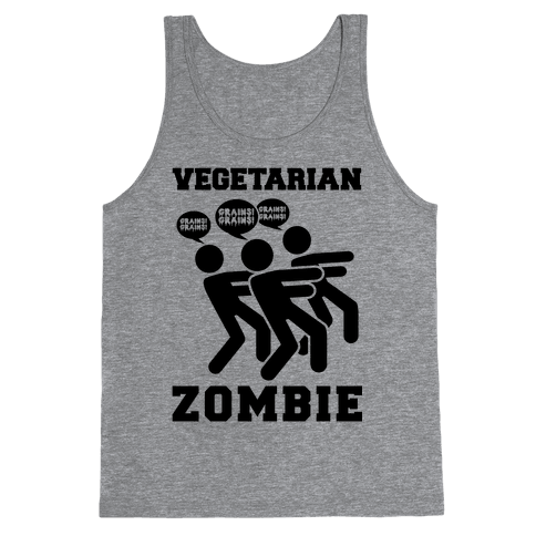 Vegetarian Zombie Tank Top
